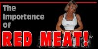 The Importance Of Red Meat!