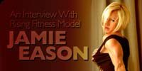 An Interview With Rising Fitness Model, Jamie Eason!