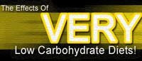 The Effects Of Very Low Carbohydrate Diets!