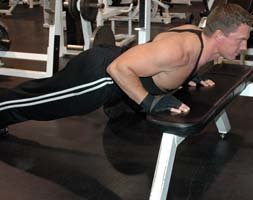 Lower Surface push-ups