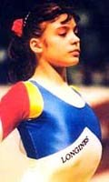 Vanda Hadarean, Gymnast