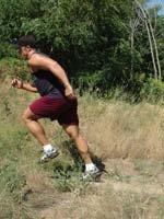 pierde greutate hill sprints)