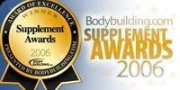 2006 Bodybuilding.com Supplement Award Winners.