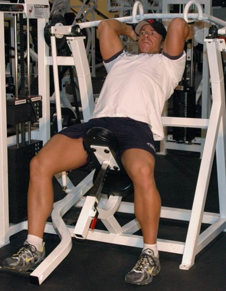 Image result for extension on back workouts on lat machine