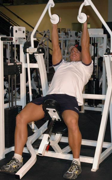 Gallery For > Tricep Machine Workout