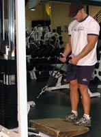 Cable Calf Raises