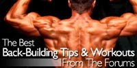 The Best Back-Building Tips And Workouts From The Forums!