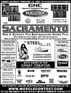 Sacramento Pro Contest Flyer