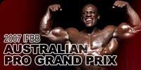 2007 IFBB Australian Pro Grand Prix Main Page!
