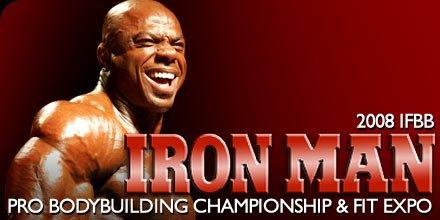 2008 IFBB Iron Man Pro