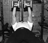 Flat Dumbbell Bench Press