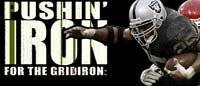 Pushin' Iron For The Gridiron!