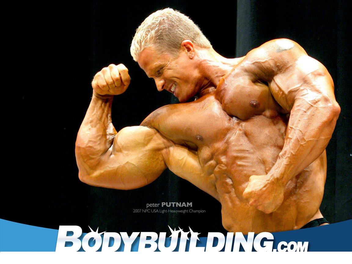 Bodybuilder Peter Putnam.