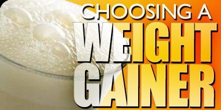 Choosing A Weight Gainer!