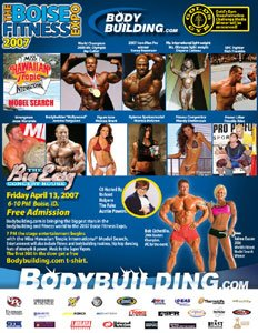 2007 Boise Fit Expo Schedule