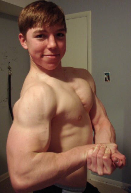 TeenBodybuilding.com - Teen Bodybuilder Of The Week: C.T. 'Smiley' Smith!