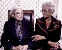 Rosa Parks & Mahala Ashley Dickerson