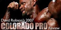 David Robson's 2007 Colorado Pro Review.