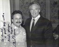 Anibal With Legendary Steve Reeves.