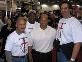 Anibal With Shawn Ray And Bobby Barker.