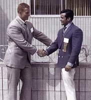 Anibal with Ken Waller