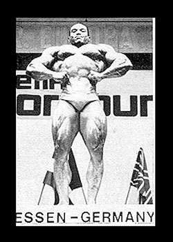 Sergio Oliva At The 1972 Mr. Olympia In Essen Germany.