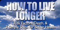 How To Live Longer: Risk Factors, Death & 7 Simple Steps For Better Health!