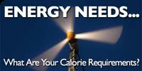 Energy Needs... What Are Your Calorie Requirements?