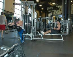 This gym is a great place to accomplish any fitness goal.