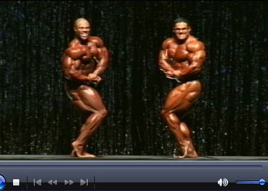 Phil Heath & Gustavo Go Head To Head During Webcast.
