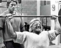Arnold & Dave Draper.