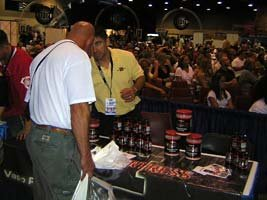 The Muscle Fortress Booth