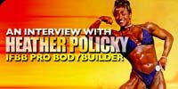 An Interview With Heather Policky, IFBB Pro Bodybuilder