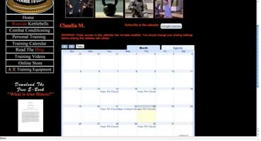 Claudia's Personal Page