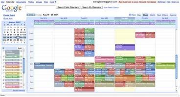 Multi-Calendar View