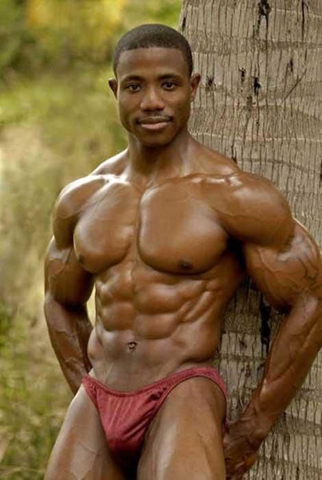 Amateur natural bodybuilders