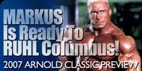 Markus Is Ready To Ruhl Columbus!