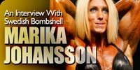 An Interview With Swedish Bombshell Marika Johansson!