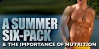 A Summer Six Pack & The Importance Of Nutrition!
