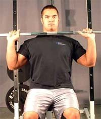 Barbell Military Press