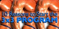 10 Reasons To Start The 3x3 Program!