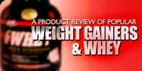 A Product Review Of Popular Weight Gainers & Whey!