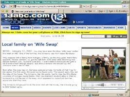 Wife Swap Video Interview