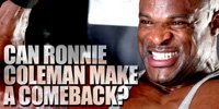 Can Ronnie Coleman Make A Comeback In 2007?