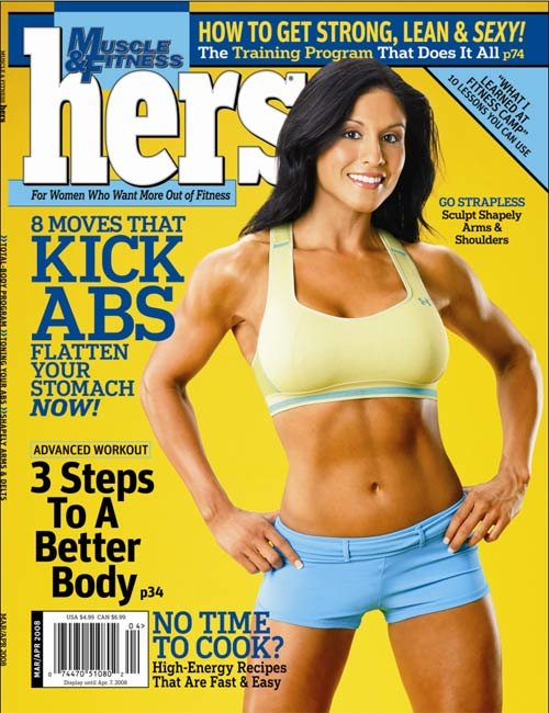 Muscle Fitness Hers March April 2008