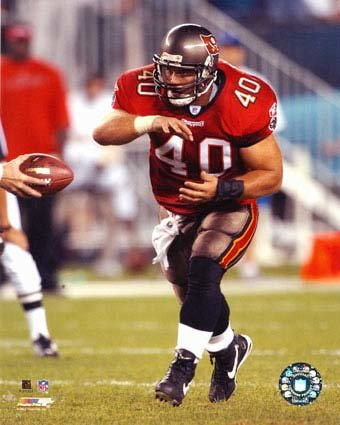 Figure 4: Everybody Has Something Or Someone That Motivates And/Or Inspires Them Or That They Would Like To Relate To. Shown In Picture: Fullback Mike Alstott From The Tampa Bay Buccaneers.