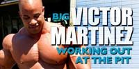 Big Victor Martinez Working Out At The Pit!