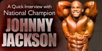 A Quick Interview With National Champion, Johnny Jackson.