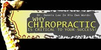 Why Chiropractic Is Critical To Your Success!