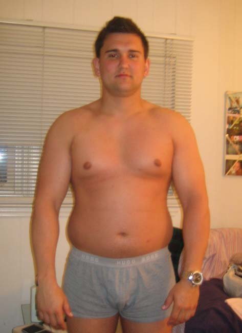 Male Transformation Of The Week - Matthew Fontana.